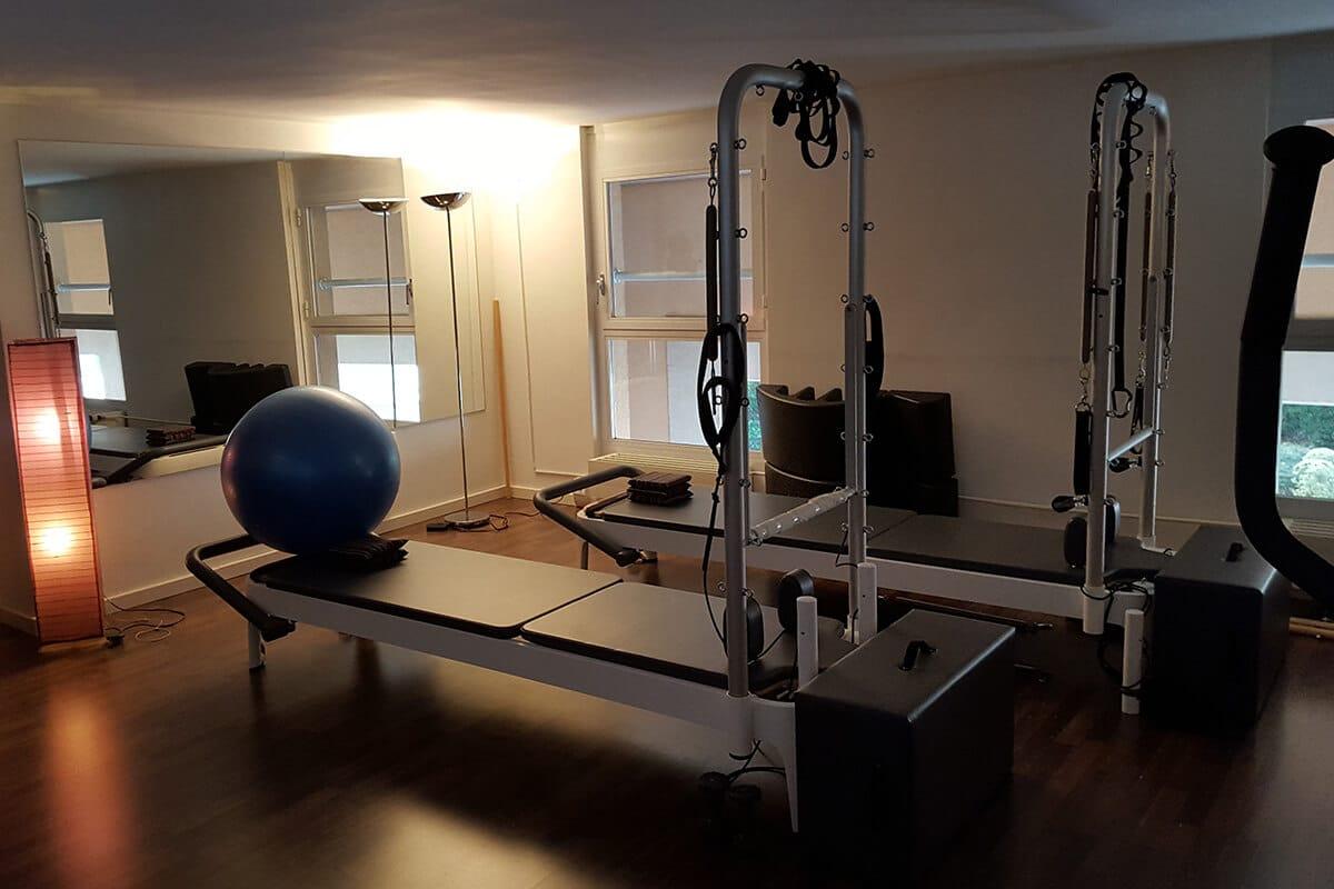 Salle Pilates Genève - Atelier corps et mouvement