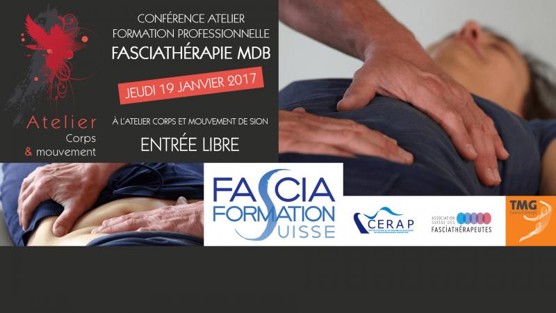 Conférence fasciathérapie Sion