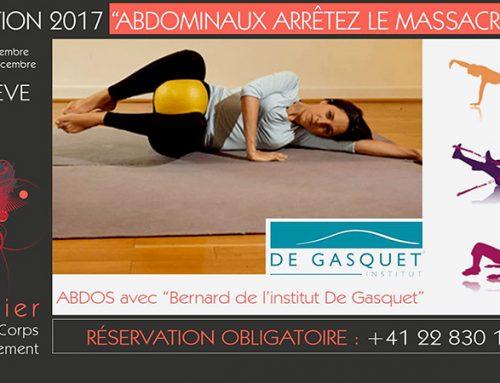 Formation 2017 Genève «Abdominaux arrêtez le massacre»