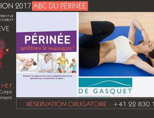 Formation 2017 ABC du périnée