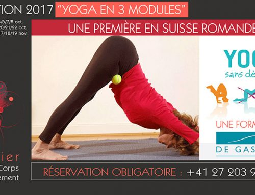 Formation 2017 Sion « YOGA en 3 modules »
