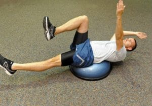 Pilates bosu