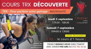 Cours de TRX | Atelier Corps et Mouvement | Cours de pilates Genève ou Sion