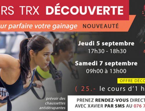 Cours TRX découverte